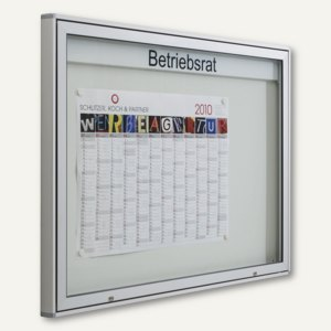 Artikelbild: Außen-Schaukasten INTRO - 137 x 101 x 55 mm