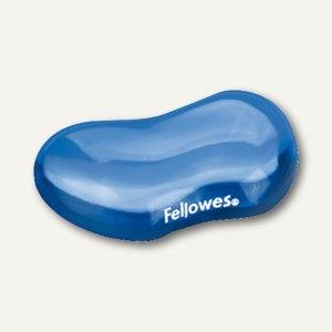 Fellowes Handgelenkauflage Flex-Auflage, aus transparentem Gel, blau, 91177-72