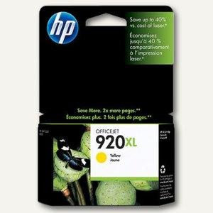 HP Tintenpatrone Nr.920XL, gelb, CD974AE