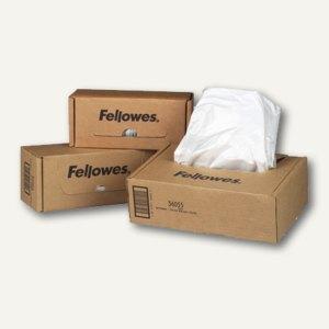 Fellowes Abfallbeutel für Aktenvernichter, bis 148 l, transparent, 50 St., 36056