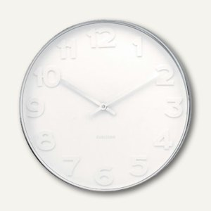 Artikelbild: Wanduhr Mr.White Numbers