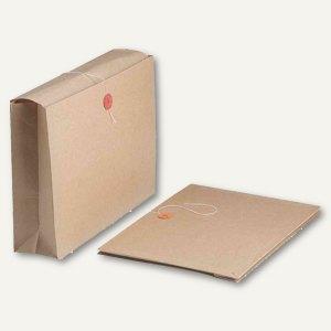 FAST Archivmappe m. Einschlagklappen, dehnbar bis 80mm, beige, 25 St., 9221X25