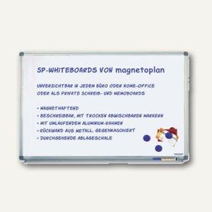 Whiteboard Typ SP, spezial lackiert, 1.800 X 1.200 mm, Wandmontage, 1240688