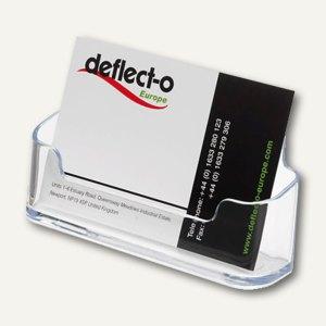 deflect.o Visitenkartenhalter, 1 Fach, 96 x 35 x 45 mm, glasklar, DE70101