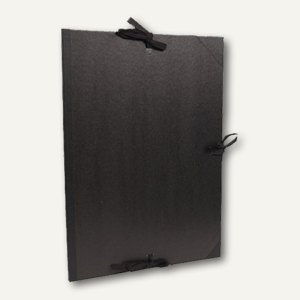 Clairefontaine Zeichenmappe - DIN A3+, 29.7 x 42 cm, schwarz/braun, 38015C