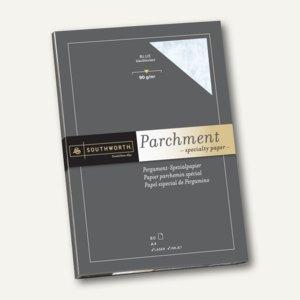 Southworth Pergament Papier, DIN A4, 90 g/qm, blau, 80 Blatt, 90190