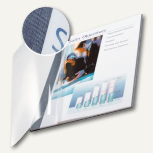 Buchbindemappe impressBind - DIN A4, 7.0 mm, Soft Cover, blau, 10 St., 73990035