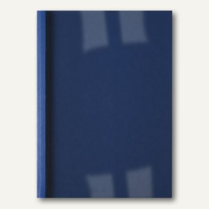 GBC Thermobindemappe ThermaBind, 4 mm, Leinenoptik, blau, 100 Stück, IB386626