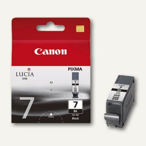 Canon Tintenpatrone MX7600, schwarz high intensity, PGI7BK, 2444B001