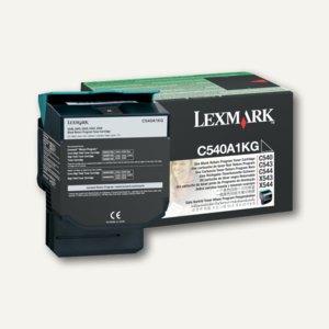 Lexmark Rückgabe-Toner, ca. 1.000 Seiten, schwarz, C540A1KG
