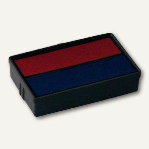 Colop Ersatzstempelkissen für MiniDater S160L, rot/blau, 2er Pack, 3101062302