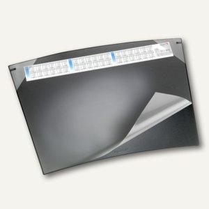 Schreibunterlage Durella Soft Trapez - 50 x 70 cm, Kalender, schwarz, 41592