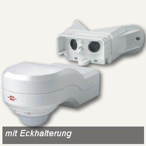Brennenstuhl Infrarot-Bewegungsmelder PIR 240, weiß, innen+außen, 1170910