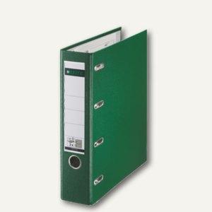 LEITZ Kunststoff-Doppelordner, für 2 x DIN A5 quer, 75 mm breit, grün,1012-00-55