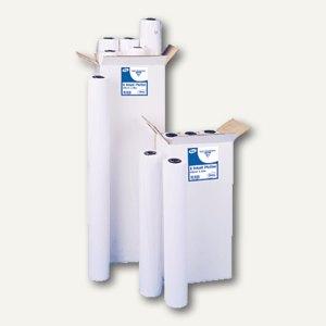 Clairefontaine Plotterpapier, weiß, 90g/m², 610mmx45 m, 6er Pack, 2646C