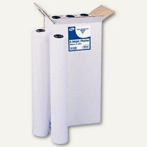 Clairefontaine Plotterpapier , weiß, 80g/m², 610 mm x 50 m, 6er Pack, 2654C