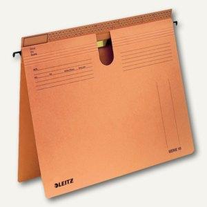 LEITZ SERIE 18 Hängehefter, Manilakarton, 320g/m, 50 Stück, orange, 1814-00-45