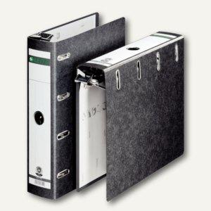 LEITZ Hänge-Doppelordner, 2 x DIN A5 quer, 75mm, schwarz, 1824-00-00