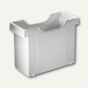 LEITZ Uni Hängemappen-Box Plus, stapelbar, Polystyrol, grau, 1908-00-85