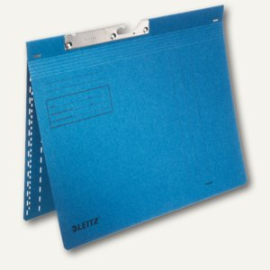 LEITZ Pendelhefter, DIN A4, 320g/m², kaufm. Heftung, blau, 50 Stück, 2013-00-35