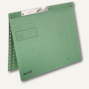 LEITZ Pendelhefter, DIN A4, 320g/m², kaufm. Heftung, grün, 50 Stück, 2013-00-55