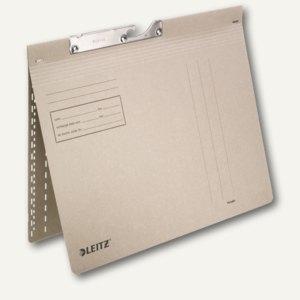 LEITZ Pendelhefter, DIN A4, 320g/m², kaufm. Heftung, grau, 50 Stück, 2013-00-85