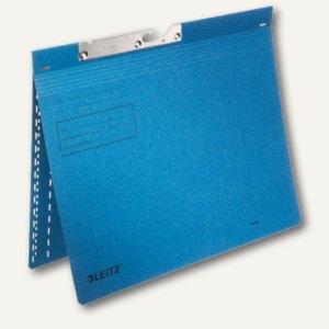 LEITZ Pendelhefter, DIN A4, 250g/m², kaufm. Heftung, blau, 50 Stück, 2014-00-35