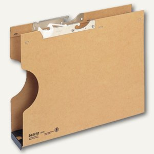 LEITZ Pendelsammler, DIN A4, Bodenbr. 60mm, 320 g/m², natron, 20 St., 2046-00-00