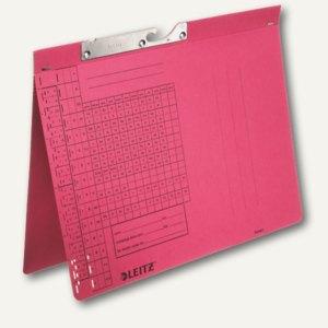 LEITZ Pendelhefter, DIN A4, 320 g/qm, Amtsheftung, rot, 50 Stück, 2093-00-25