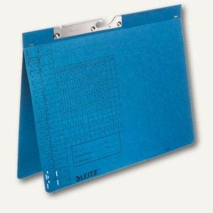 LEITZ Pendelhefter, DIN A4, 250 g/qm, Amtsheftung, blau, 50 Stück, 2094-00-35