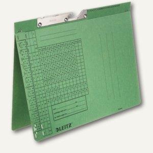 LEITZ Pendelhefter, DIN A4, 320 g/qm, Amtsheftung, grün, 50 Stück, 2093-00-55