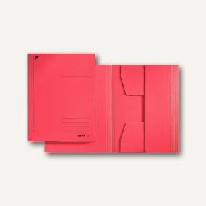 LEITZ Jurismappe DIN A5, 320 g/m², bis 250 Blatt, rot, 3925-00-25