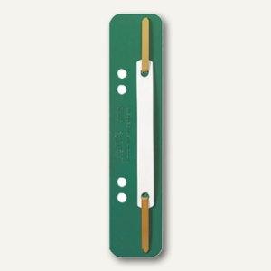 LEITZ Heftstreifen, 35 x 158 mm, PP-Folie, grün, 25 Stück, 3710-00-55