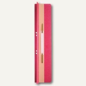 LEITZ Heftrücken, 65 x 305 mm, Manilakarton, rot, mit Heftfalz, 25 St., 3726-00-