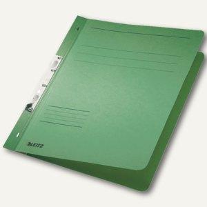 LEITZ Schlitzhefter, DIN A4, Manilakarton, grün, 50 Stück, 3746-00-55