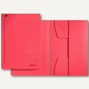 LEITZ Jurismappe, Folio, Colorspankarton 320 g/qm, rot, 25 Stück, 3922-00-25