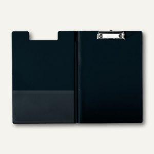 LEITZ Klemmbrett-Mappe, DIN A4, PP-Folie, schwarz, 3960-00-95