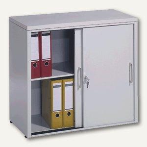 C+P Schiebetürenschrank, (HxBxT) 720 x 800 x 400 mm = 2 Ordnerhöhen, 5722-00