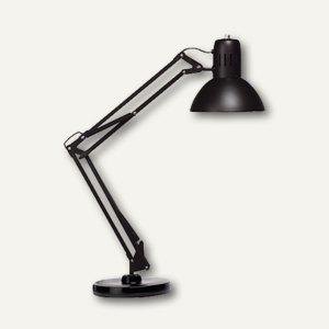 unilux Tischleuchte SUCCESS 80, Standfuß, Höhe 80cm, schwarz, 100340251