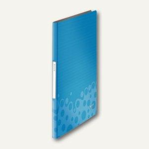 LEITZ Sichtbuch Bebop, DIN A4, mit 20 Hüllen, PP, blau, 4564-00-37