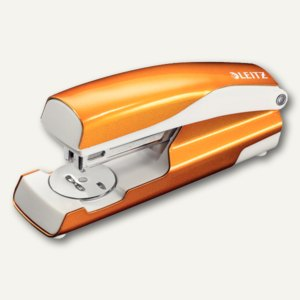 """Heftgerät """"NeXXt"""" 5502, 30 Blatt, Oberlademechanik, orange-metallic, 5502-20-44"""