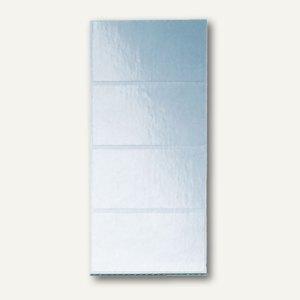 LEITZ Schutzfolienschildchen auf Streifen, transparent, 100 Stück, 6641-00-00