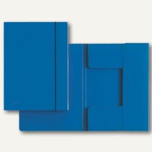 LEITZ Sammelmappe, DIN A4, Hartpappe 0.7 mm, blau, 180 Blatt, 3926-00-35