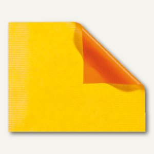 Geschenkpapier gelb-orange