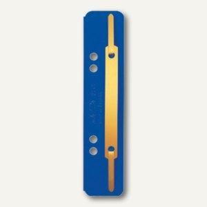 Heftstreifen 35 x 158 mm, Colorspankarton 320 g/qm, blau, 25 Stück, 3701-00-35