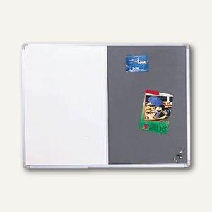 Franken Kombi-Tafel X-tra! Line, (B)60 x (H)90 cm, grau, CB200212