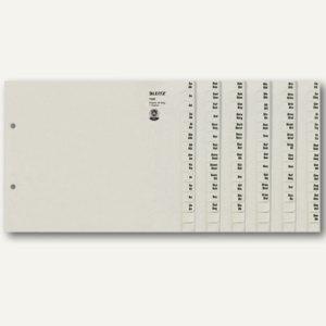 LEITZ Tauenpapier-Register, A-Z, grau, 36 Sätze, 1336-00-85