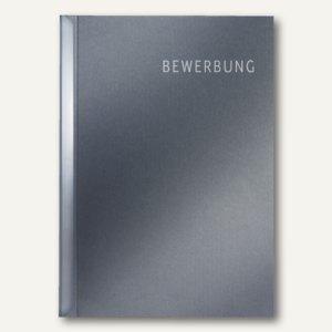 """LEITZ Bewerbungsset """"Schnell und Einfach"""", Karton, grau, 5 Stück, 3972-00-89"""