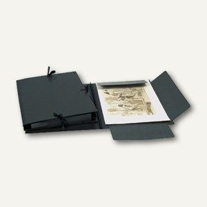 Clairefontaine Zeichenmappe - DIN A1, 50 x 70 cm, schwarz, 38815C