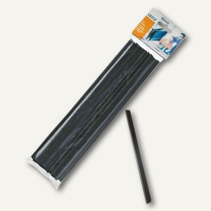 LEITZ Klemmschiene, DIN A4, 3 mm, Kunststoff, blau, 50 Stück, 21772